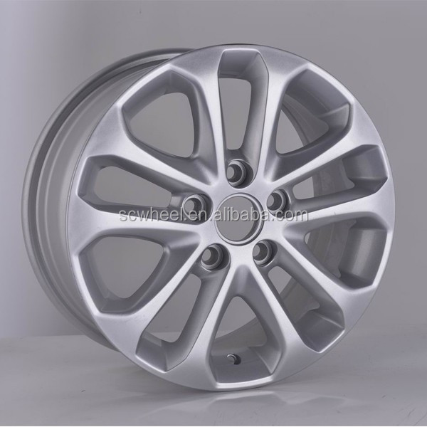 15inch hot selling car alloy rims mag wheels with 5x108 for sale