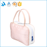 Professional Cosmetics Wholesale Lady Fashion Polyester Vanity Bag/Case
