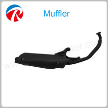 Motorcycle Scooter Fiber Exhaust Muffler 150cc Motorcycle Engine Muffler For GY6 Address V150S
