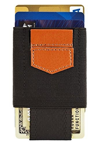 custom elastic credit card holder wallet minimalist wallet elastic strap wallet