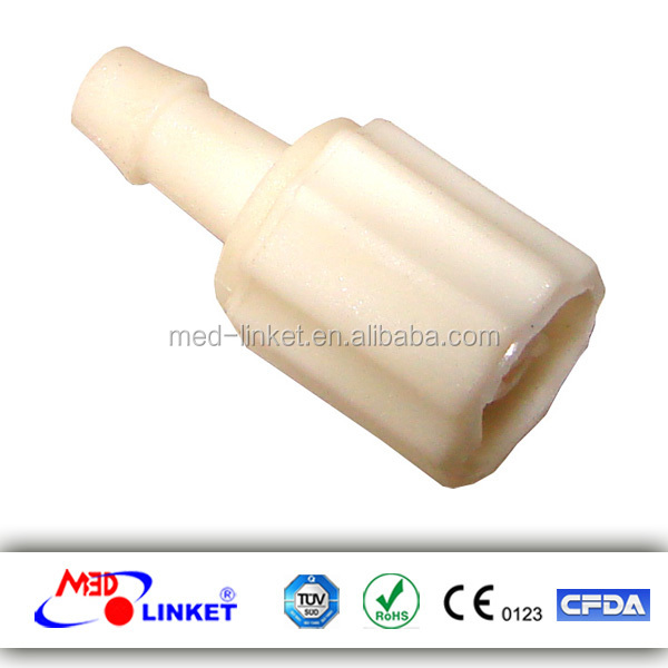 With CE/ISO/FDA Certificate of Air Hose Connector compatible with DINAMAP, Plastic Material