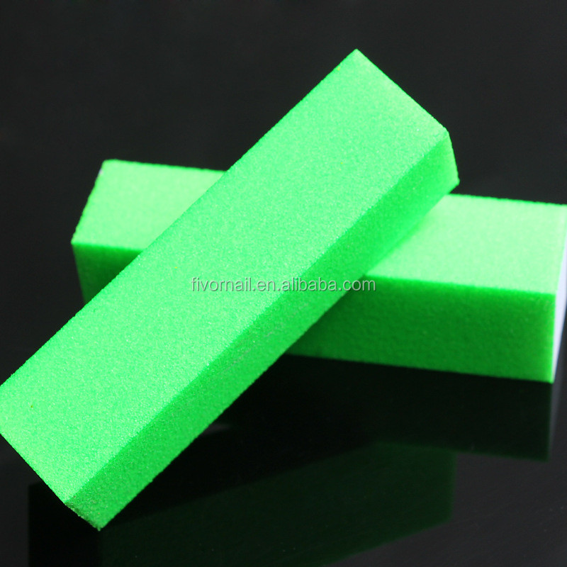 Fluorescent Color Sanding Block Nail Files Grinding