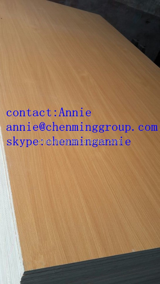 funiture used melamine faced plywood