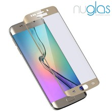 2016 newest mobile phone accessories for S7 edge full cover screen protector tempered glass 9h 24*26