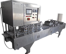 China gold supplier juice cup filling machine for drinkings