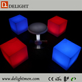 Nightclub bar furniture with Multicolor change luminous led furniture