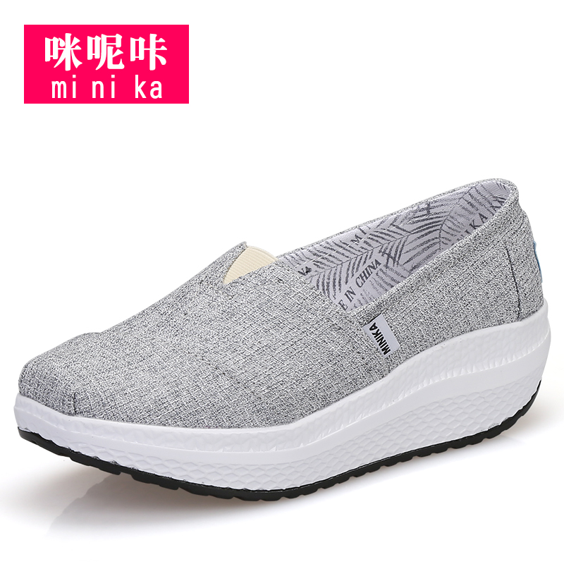 Women canvas loafer shoes fitness shoes casual walking shoes