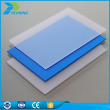 China goodlife quality transparent clear plastic wall protection roll ge lexan polycarbonate sheet