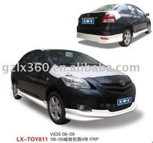 for Toyota 08-09 VIOS car bodykits (4 pieces)