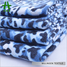 Mulinsen Textile Knitting Poly Spun Single Jersey Animal Skin Printed Monster High Fabric Wholesale