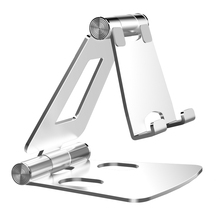 Licheers free shipping Aluminum foldable desk <strong>phone</strong> <strong>holder</strong> portable mobile <strong>phone</strong> <strong>holder</strong> stand dual foldable cell <strong>phone</strong> <strong>holder</strong>
