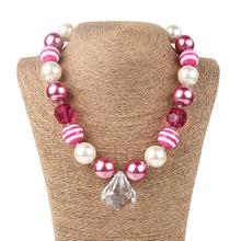 Girls Chunky Necklace Bubblegum Necklace Girls Bubble Gum Bead Necklace Bead accessories