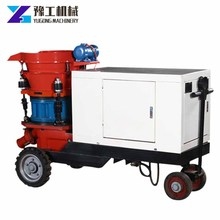 Hot Sale Wide Performance Diesel Dry Concrete Spraying Machine For Sale