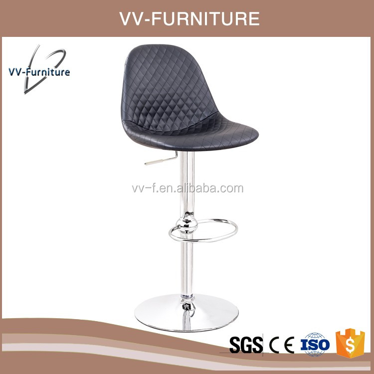 high quality italian adjustable bar stool with high stand