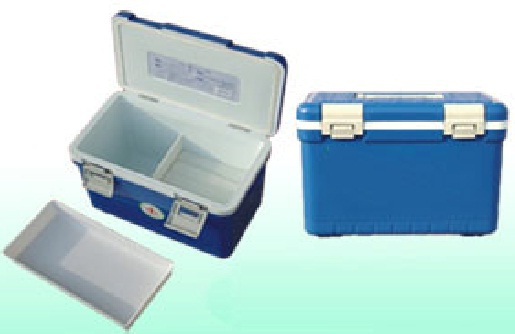 WHO certified PP material blood vaccine transport mini Portable refrigerator