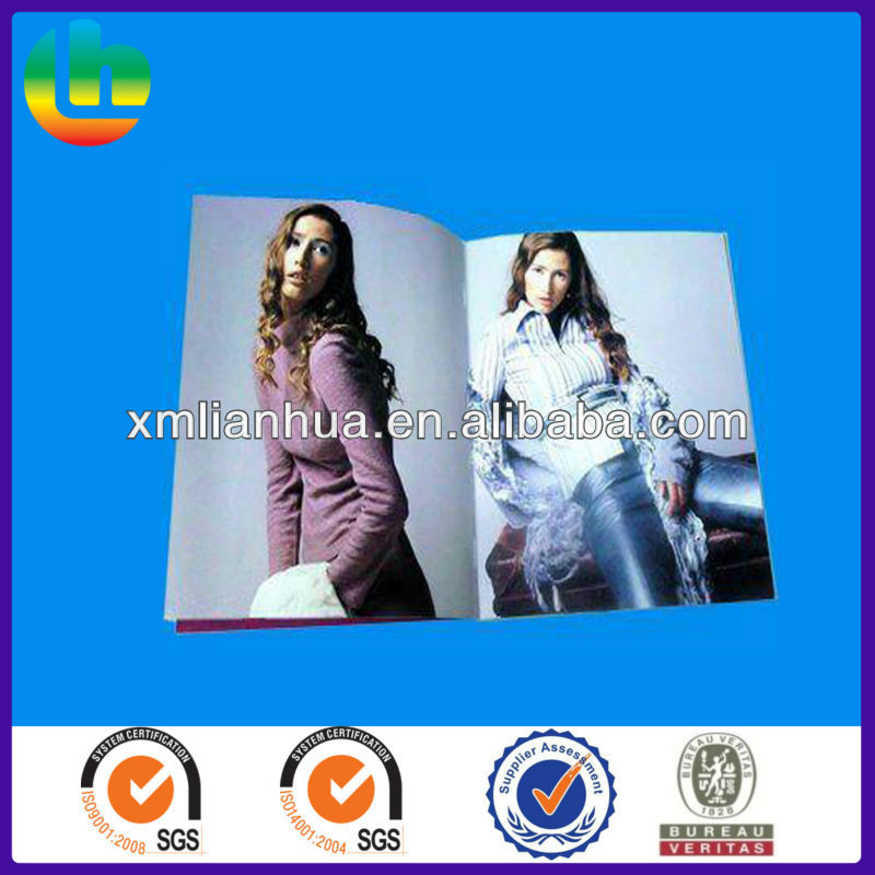 Fashion Guide Magazine with high quality printing ,professional catalog printing