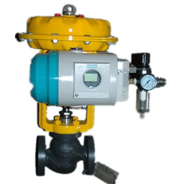 Pneumatic Cage Guided Globe Valve