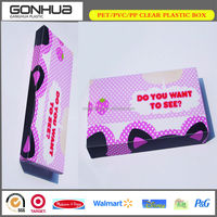 PP Plastic Pencil Box New Arrivals Exquisite Customized Printing Unique Clear Packaging