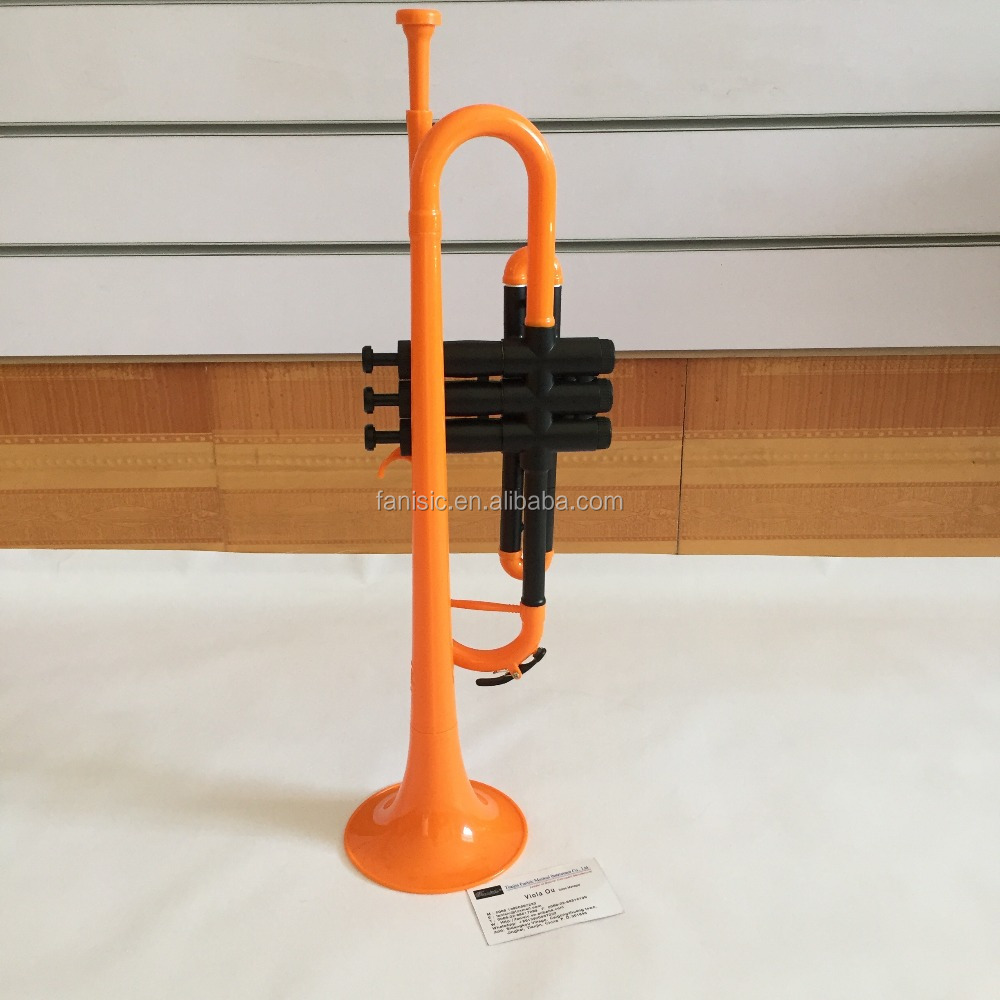 High quality new style trumpet cheap trumpet plastic trumpet in china