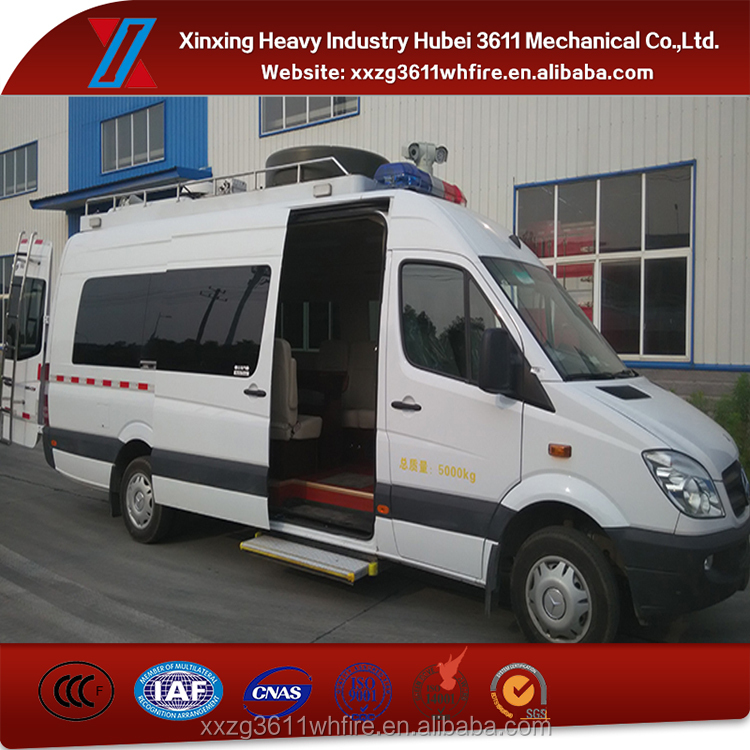 New Products Remote Emergency Rescue Communication Vehicle