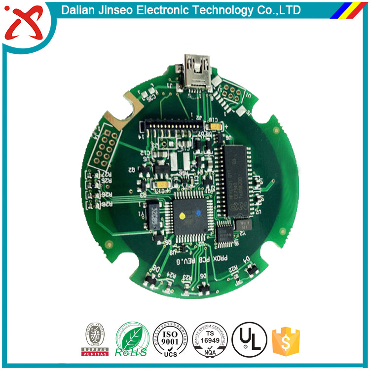 rosh fiber glass custom electronic circuit board