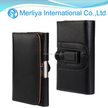 Belt Clip Holster Leather Pouch Case For Samsung S6