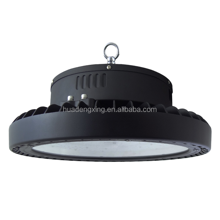 New arrival factory supply high quality black housing 200W UFO SMD LED high bay light