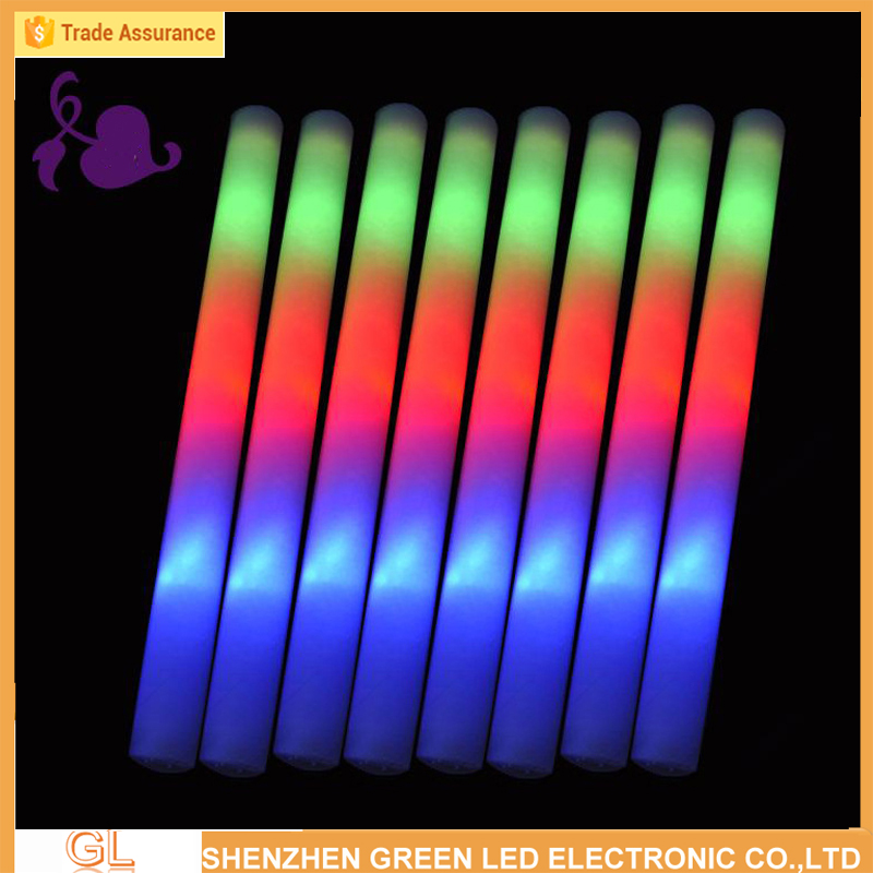 foam led light stick party,concert,<strong>wedding</strong> flashing glow stick manufacturer