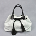 Affordable luxury Ostrich skin handbag Women white ostrich bag exotic bag ostrich leather bag