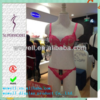 2014 hot sale kind high gloosy sexy lifelike female mannequin bra bikini models