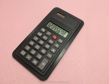 Business promotional gift 8 digit double power pocket calculator