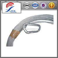 galvanized wire cable sling assemblies