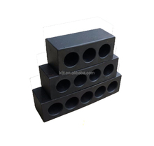 Manufacturer customized Black rust treatment anchor head for post tension