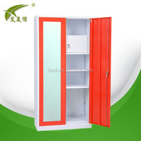 modern designed bedroom steel cupboard/steel godrej cupboard