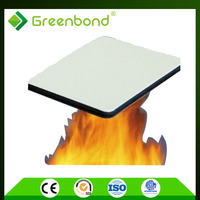 Greenbond B1 level fire resistant facade construction material panel