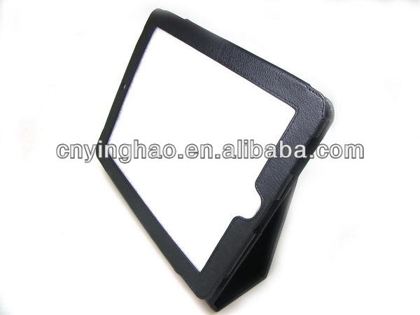 Contemporary hot sell leather case for samsung ipad