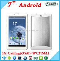 China Cheapest 7inch Tablet 3G Sim Card Slot With GPS Bluetooth FM, MTK Dual Core Android Tablet Pc