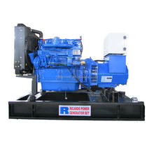 Three phase 50/60HZ 85KVA water cooled lovol diesel generator set