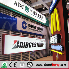 Outdoor Advertising Logo Name Letter Design Led Company Signboard