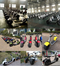 The coolest chinese motorcycle 2000W citycoco electric scooter for sale