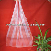 Clear Bag!! China Custom large clear plastic bags with good handle