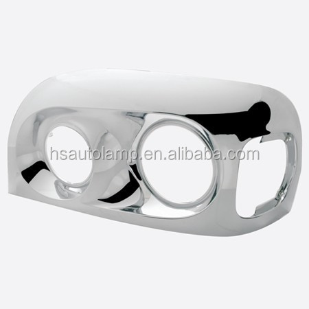 Heavy duty truck body parts ,Freightliner Century Headlight Chrome Bezel