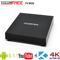 Built-in wifi Tocomfree Android Tv box support 4k full HD 1080p smart TV box