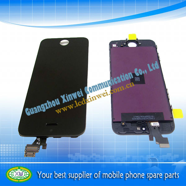 Repalcement lcd mobile phone touch screen for iphone 5 lcd