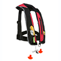 SOLAS approved double chamber inflatable life jacket used for jet ski