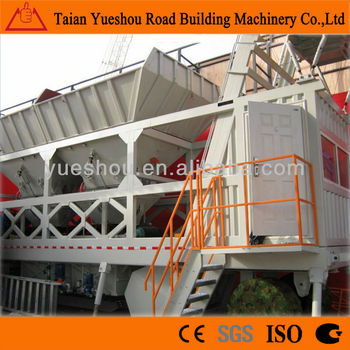 Mobile Concrete Mix Plant 60m3/h