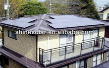 high capacity solar panels,thin film solar ,high efficiency photovoltaic cel SN-M165