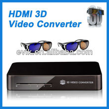 100% Brand New 2D to 3D Converter Box Media Player.