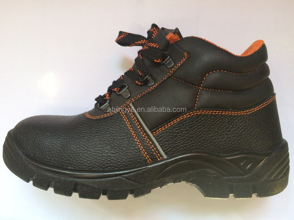 JY-161 factory wholesale cheap price non-slip anti-smashing work boots steel toe
