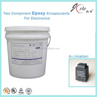 Epoxy RTV Curing 110 to 24 volt Transformer Potting Sealant